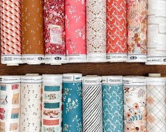 Fat Quarter / Half Yard Bundle - BOOKISH by Sharon Holland of Art Gallery Fabrics - 16 Fabrics