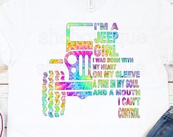 Jeep Girl Shirt Im A Tee Gift Life Idea Lover Clothes