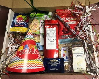 Birthday Gift Basket Box For Men Or Women Off All Ages