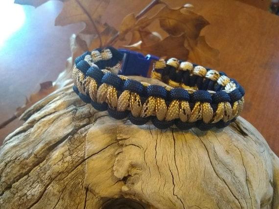 Sand Camo Blue Outline, Hunters, Hikers, Paracord Bracelets, Outdoor Wear, Survival Gear