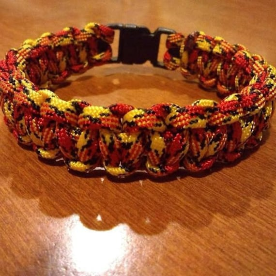 Marine Veterans Bracelet, Paracord, Hand Crafted, Military, Veterans Gift, Made in USA