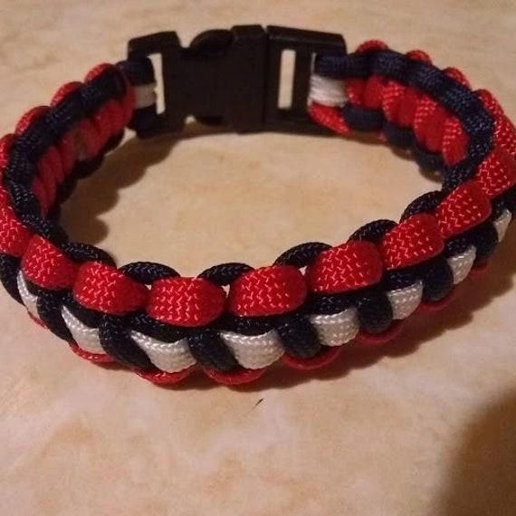 CLEARANCE, NE Football Team Bracelet, Football, Sports, Team Jewelry, Team Support Bracelet