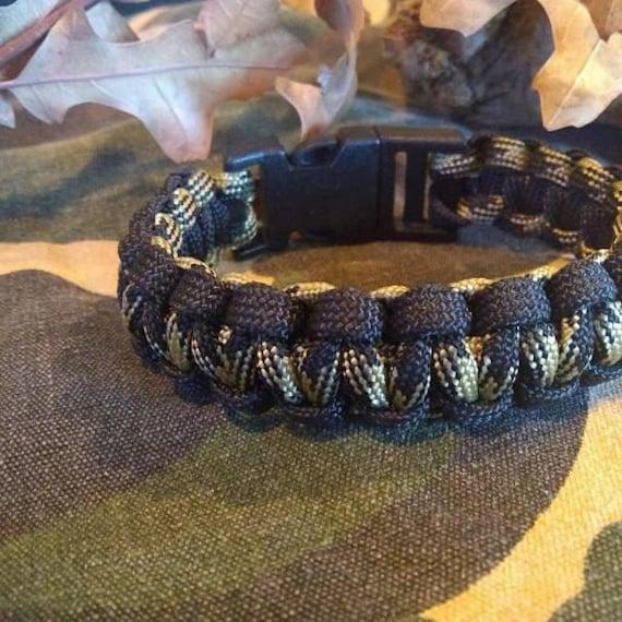 Knights Camo Black Outline, Hunter Jewelry, Hiker Jewelry, Paracord Bracelets, Outdoor Wear