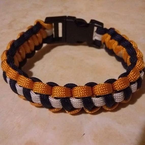 CLEARANCE, LA Football Team Bracelet, Football, Sports, Team Jewelry, Team Support Bracelet