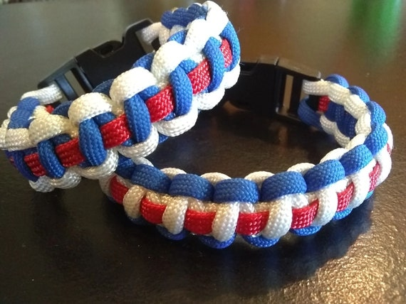 Independence Paracord Bracelet, Support USA, Freedom Jewelry, USA Gifts