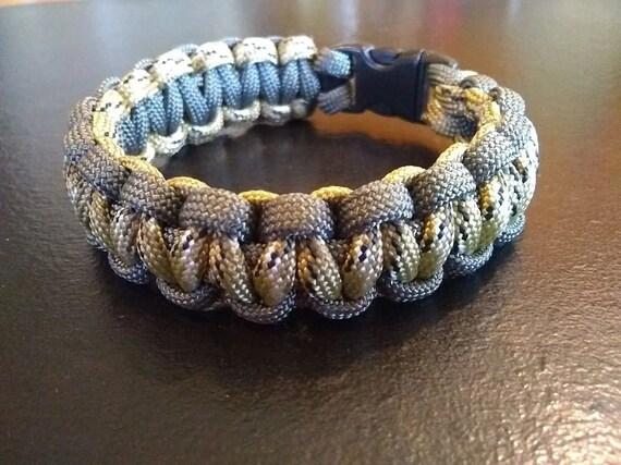 Desert Camo Charcoal Outline, Hunter Jewelry, Hiker Jewelry, Paracord Bracelets, Outdoor Wear