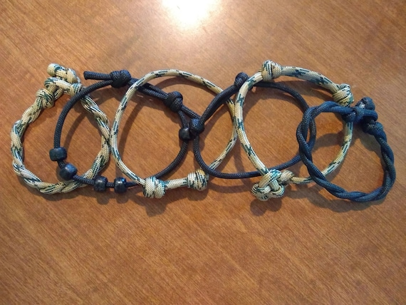 Stack-able OCP Camo Bracelets (Deployment), Paracord, Hand Crafted, Military, Veterans Gift, Made in USA