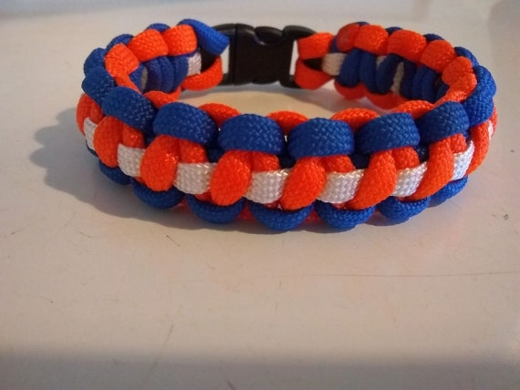 CLEARANCE, Denver Team Theme Bracelet, Football, Sports, Team Jewelry, Team Support Bracelet