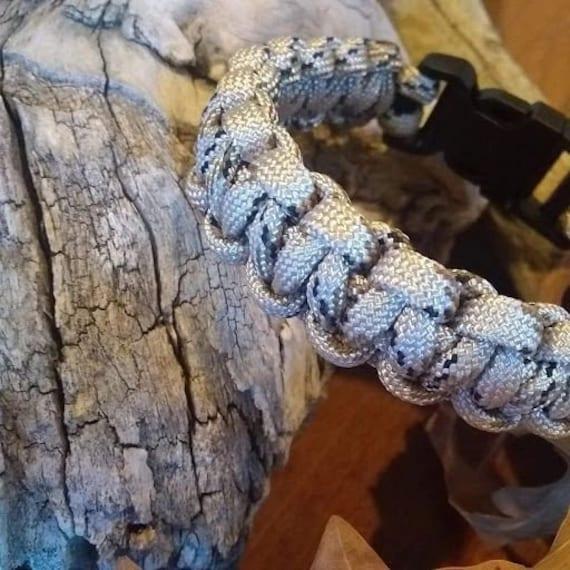 Sand Camo Bracelet, Hunter Jewelry, Hiker Jewelry, Paracord Bracelets, Outdoor Wear