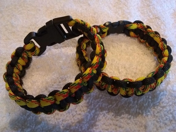 Vietnam Veteran Bracelet, Paracord, Hand Crafted, Military, Veterans Gift, Made in USA