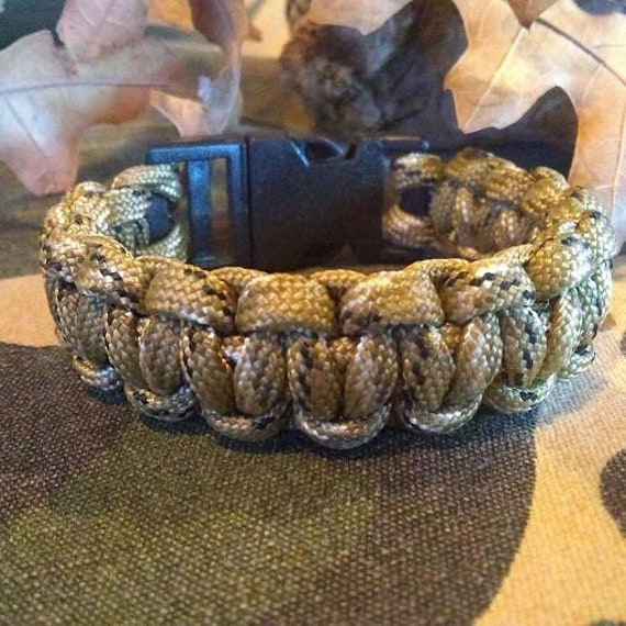 Desert Camo Bracelet, Hunter Jewelry, Hiker Jewelry, Paracord Bracelets, Outdoor Wear