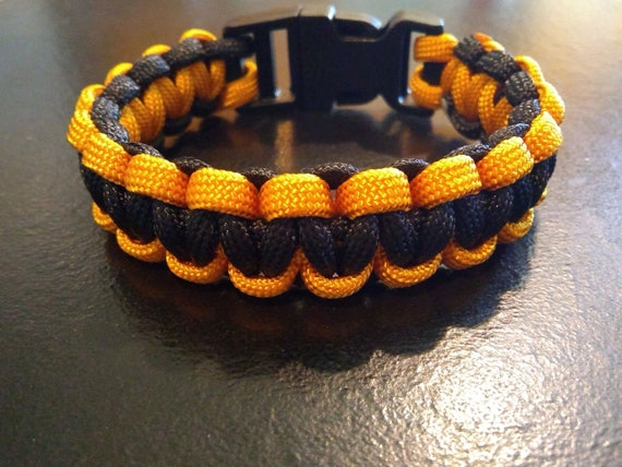 Army Paracord Bracelet, Paracord, Hand Crafted, Military, Veterans Gift, Made in USA