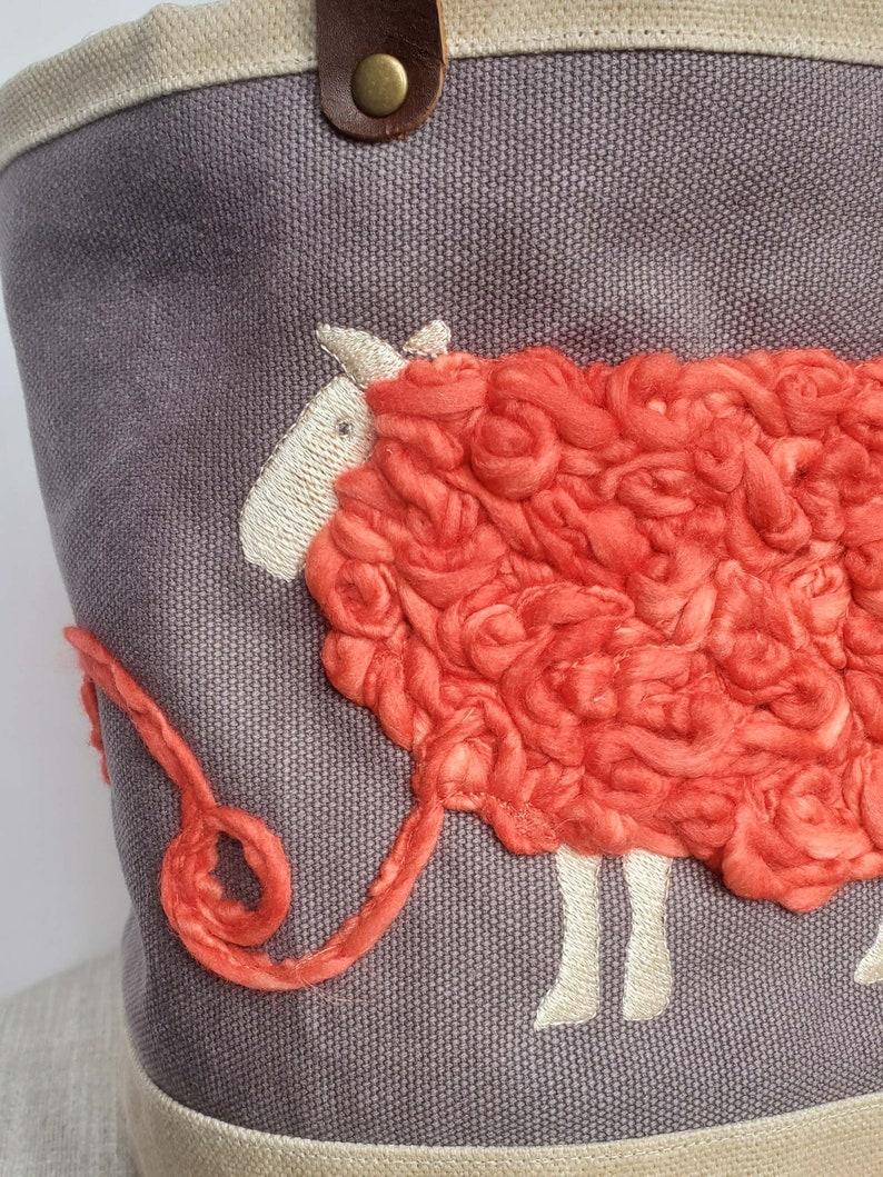 Sheep Bucket Bag