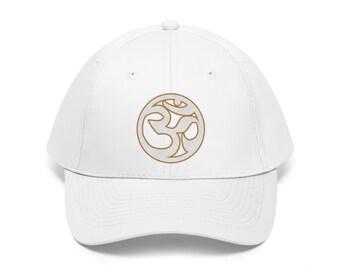 976df0614f2 OMENUF - Custom Om Twill Hat (7 Colors) - Yoga Hats