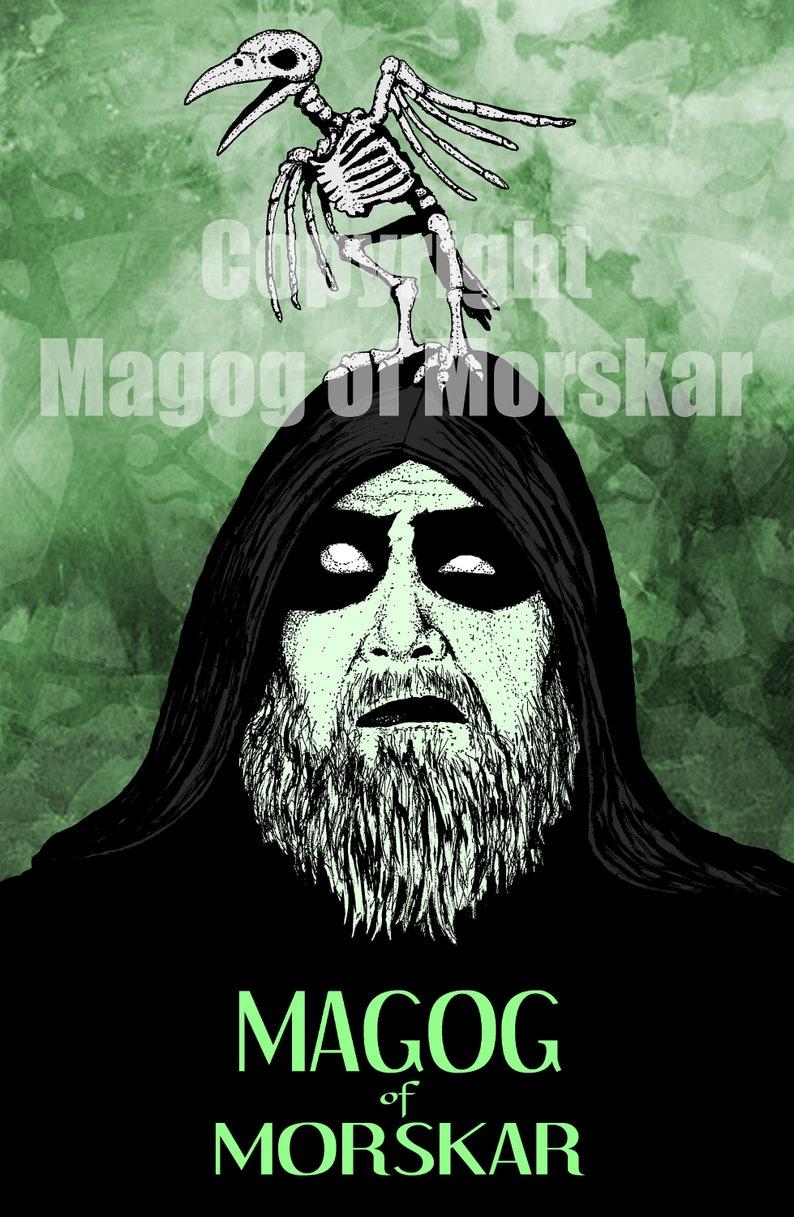 Magog of Morskar Art Print  11x17 Signed & image 0