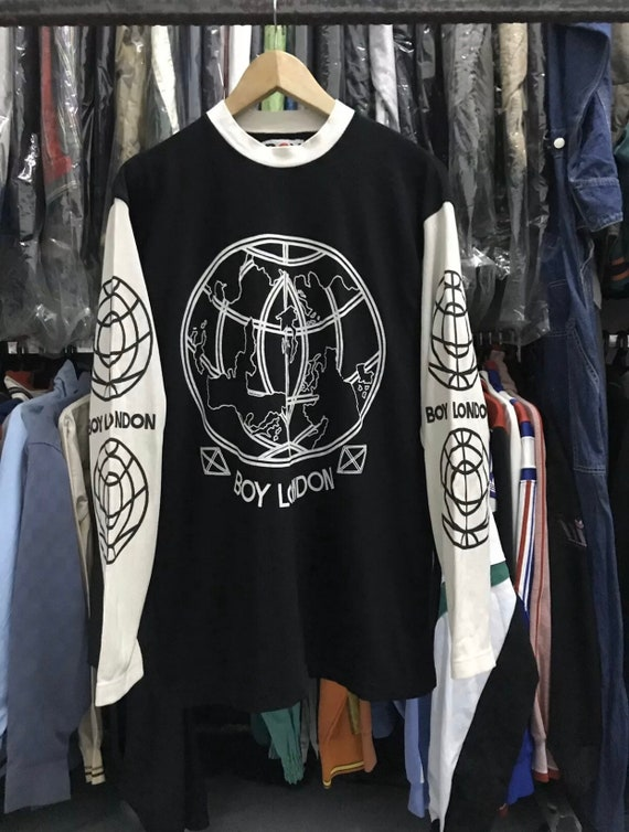 Vintage boy london seditionaries punk longsleeve t