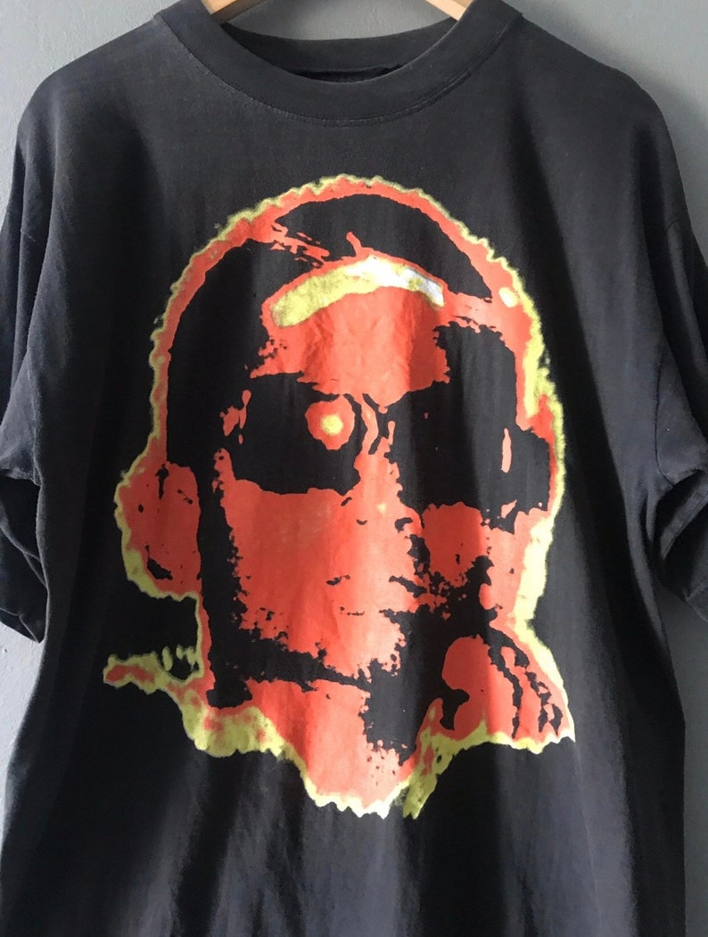 Vintage 90/'s keziah jones legendary african singer t shirt blufunk tour pop rock band t shirt large