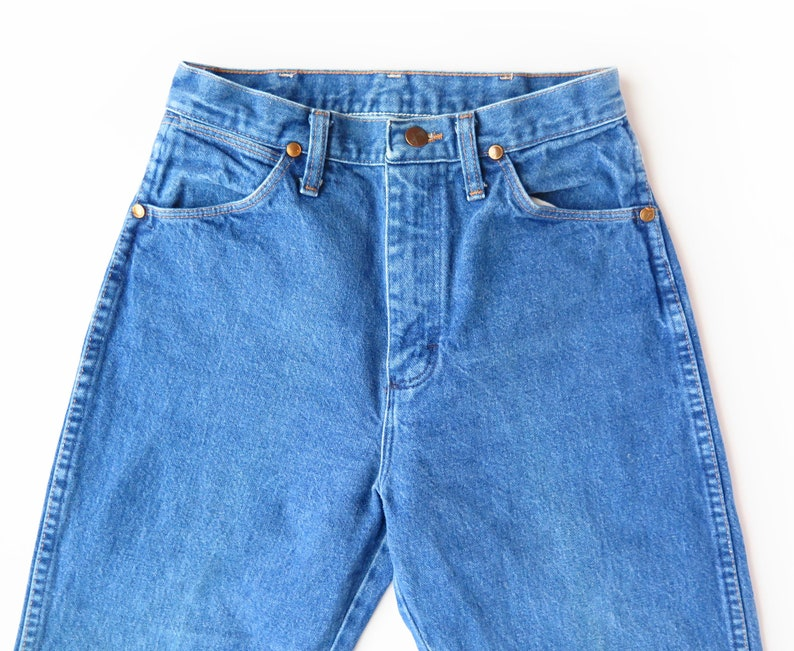 Vintage Women/'s Wrangler Mom Jeans size 7x34 Made in USA