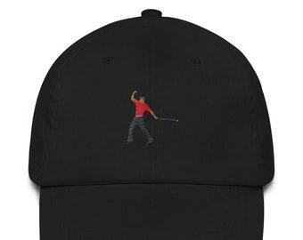 8aaf34ac7822a Tiger Woods Fist Pump Dad Hat (PGA Tour)