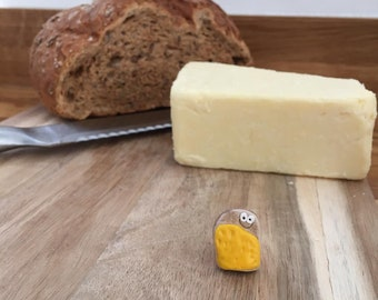 The Pet Cheese On Toast Vegetarian Gift Birthday Friendship Cute Small Fun Friend Unique Different Vegan