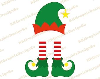 Elf Legs Clipart Etsy