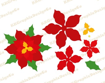 Christmas Poinsettia Clipart png download - 600*546 - Free Transparent  Poinsettia png Download. - CleanPNG / KissPNG