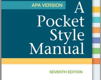 Pocket style manual text only 7th edition (9781457642326.