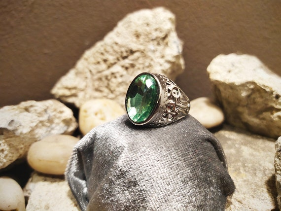 Ring Witch/'s own Talisman Wicca Spell Pagan Spirit Vessel /'/'see me/'/' 925 STERLING SILVER Female Lover Powerful Marid Djinn