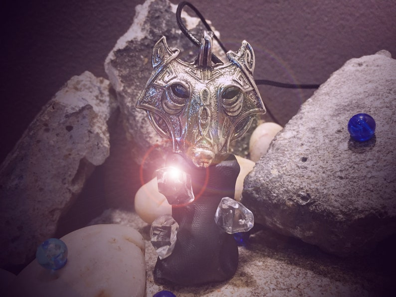 Wolf Spirit Sense DARK ART Satanic Pendant Haunted Energy Powerful Witch's  own Talisman Wicca Spell Pagan Vessel Protection,Remove Sin,Lucky
