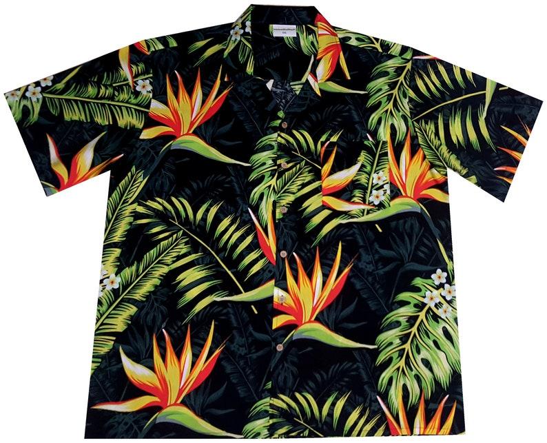 6XL Hawaiihemd Hawaihemd Hawaiishirt orange Hawaii Hemd Hawaiian Paradise S