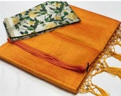 Plain soft silk saree, print blouse, designer saree, saree blouse, saree for women, Sari, sarees, sarees