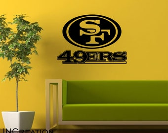 San Francisco 49ERS Wall Vinyl Decal 409ad61e6