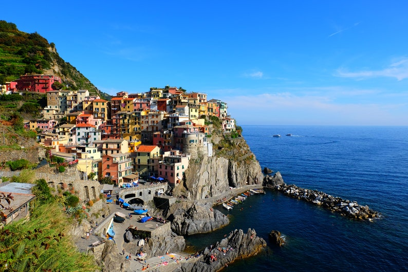 Manarola in Cinque Terre Italy image 0