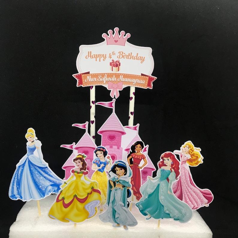 Castle Princess Cake Topper