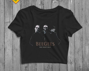 aa6507f92bccc Bee gees tee shirt | Etsy
