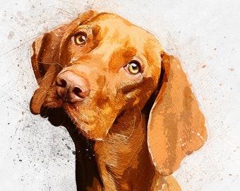 823def237a2cc Custom pet portrait