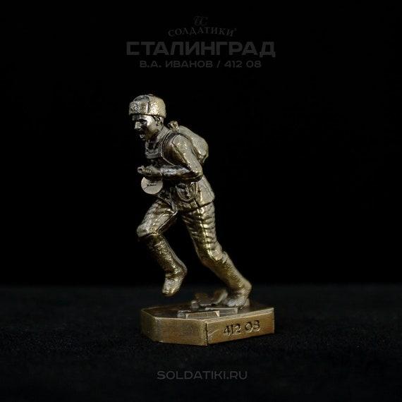 I bronze 40 mm miniature BC Soldiers CHUYKOV V
