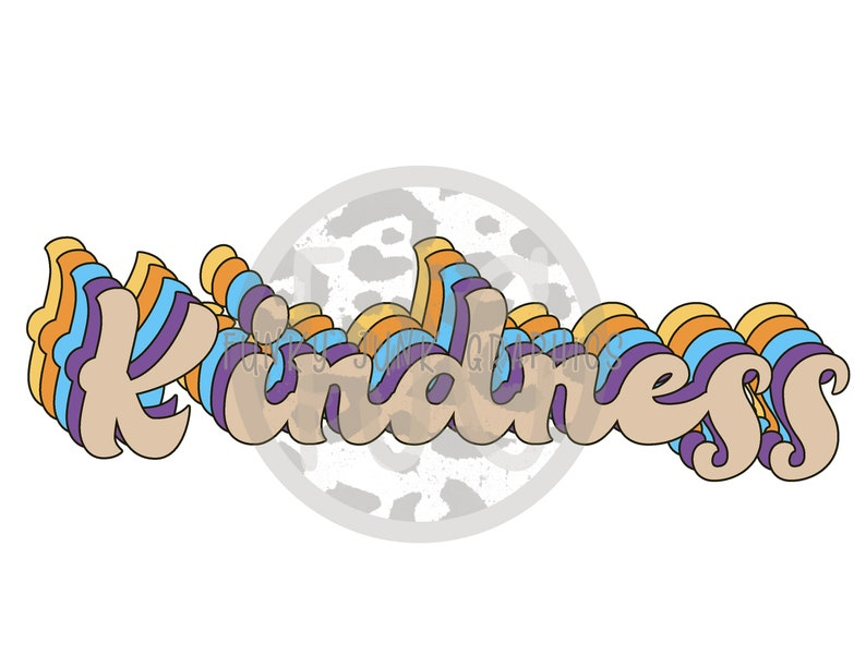 Kindess retro style FREE file instant download png files