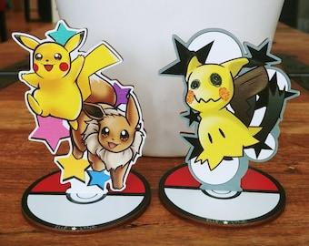 Pokemon Wood Standees