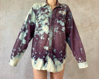 f4ed0c8c03c bleach  retro denim  watercolor shirt