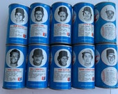 Vintage RC Cola 1970 s baseball collectible cans