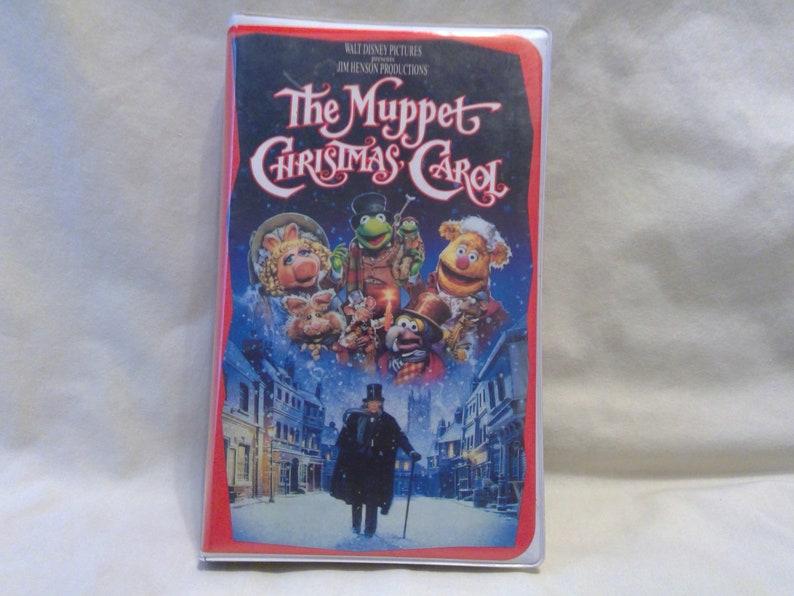 Muppet Christmas Carol Vhs.Vintage Vhs Video Tape The Muppet Christmas Carol By Walt Disney And Jim Henson