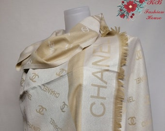 ca34d7446a88 Chanel Logo Beautiful Soft Stylish Men Women Unisex Unique Scarf