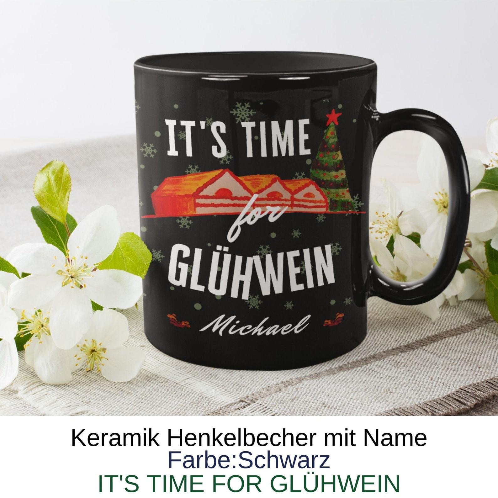 It's Time Glühwein personalized