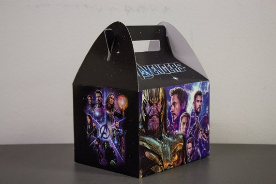 Guardians of the Galaxy Personalized Popcorn Box or Favor box Printable