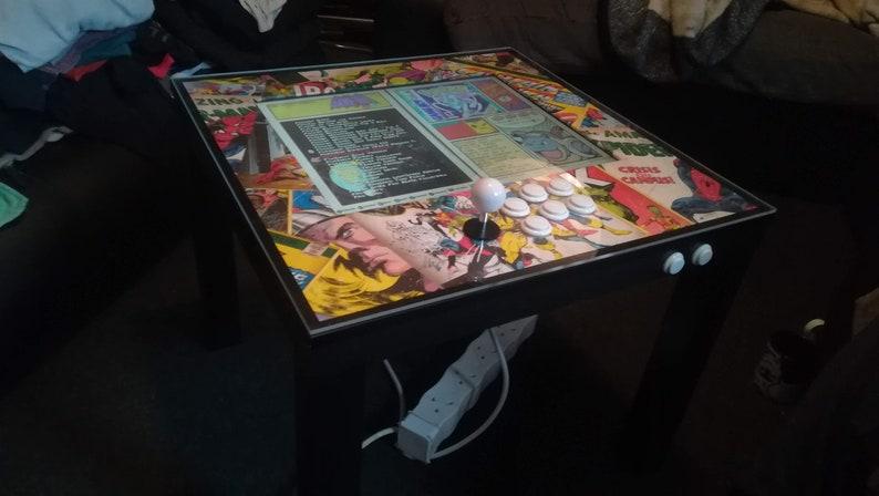 Gaming Coffee Table.Retro Arcade Machine Gaming Coffee Table