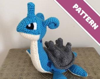 3af795f0 Lapras crochet pattern