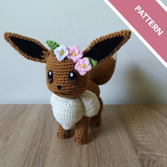 Eevee Amigurumi Crochet Pattern | Pokemon crochet pattern, Crochet ... | 570x570