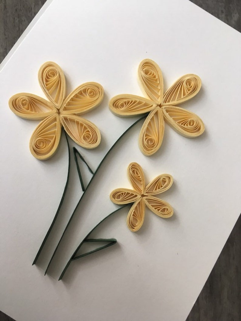 Quilled Blank Greeting Cards 3 Pack
