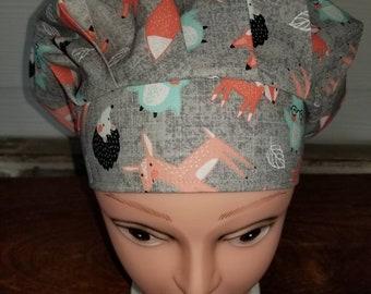 6900f9ef35bd1 Fox scrub hat